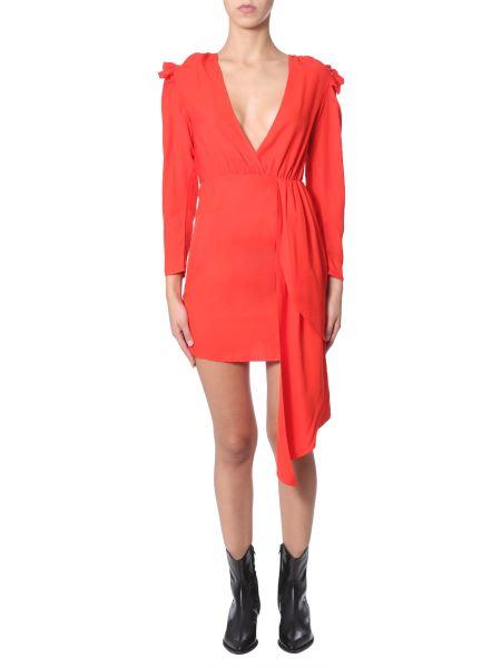 "Jovonna London - Asymmetric ""tami"" Dress With Frill"