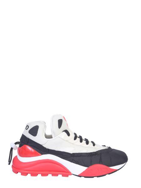 Forward - Sneaker In Nylon E Rete Bicolor