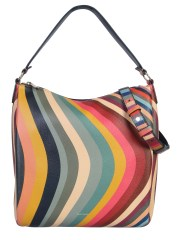 PAUL SMITH - BORSA A SPALLA IN PELLE