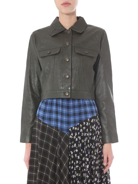Michael By Michael Kors - Leather Jacket