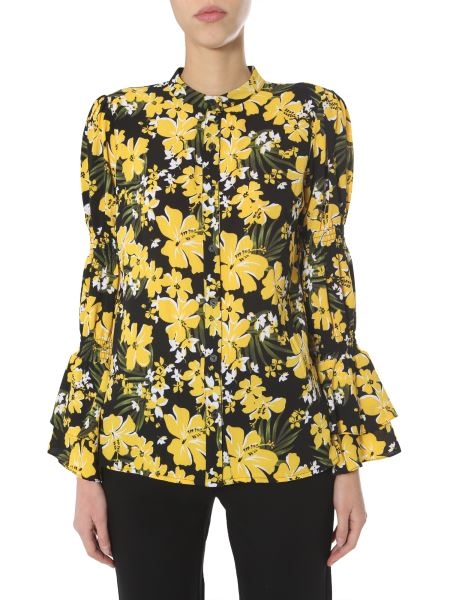 Michael By Michael Kors - Floral Print Shirt