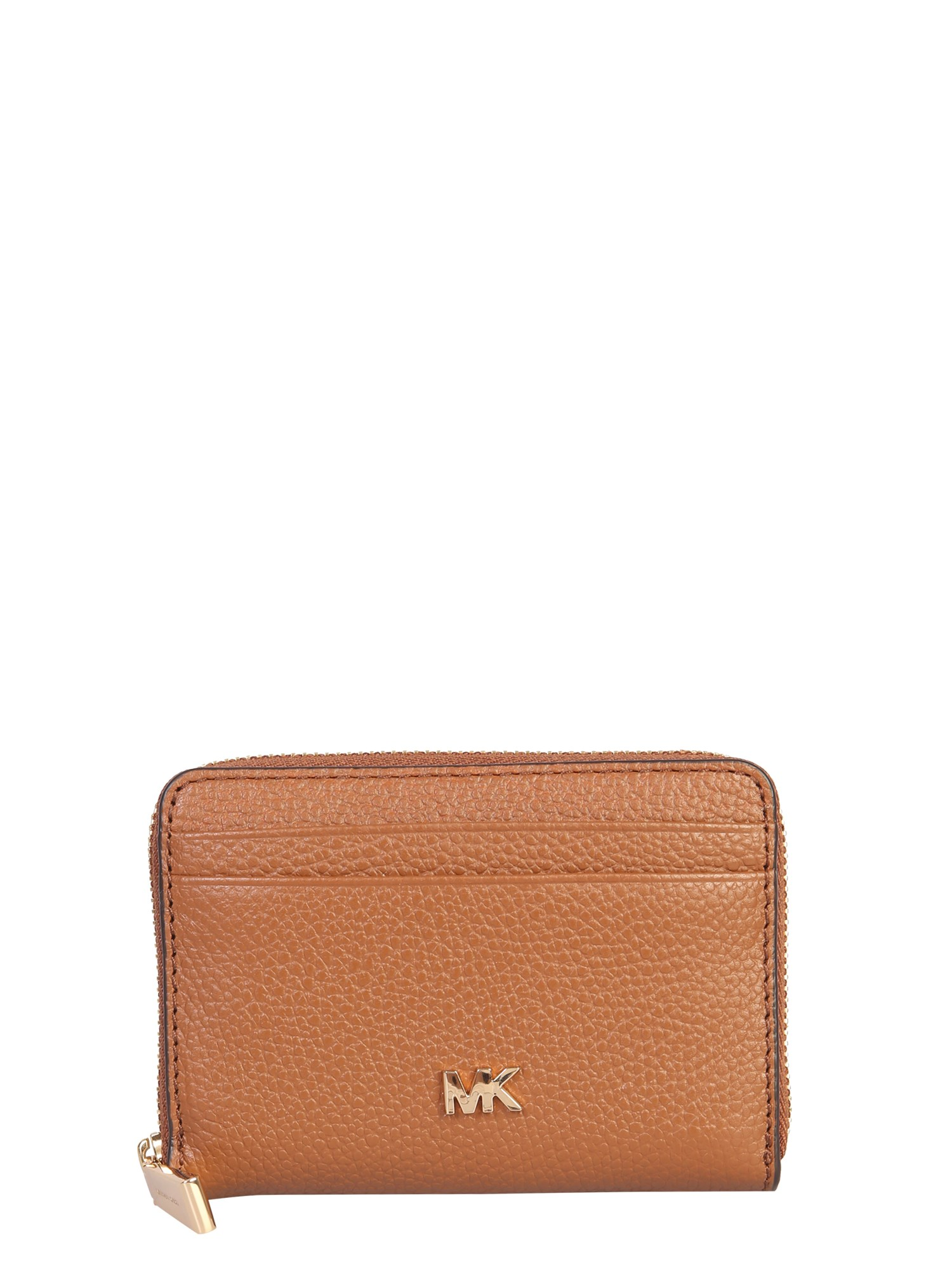 Michael Michael Kors Mott Wallet In Brown