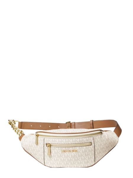 Michael By Michael Kors - Lined Canvas Belt Bag With Logo