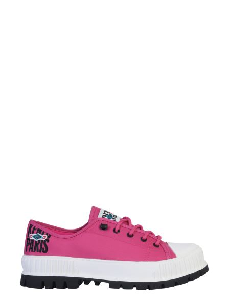 Kenzo - Sneaker Low Top In Nylon Kenzo X Palladium