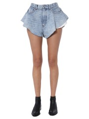"ALEXANDER WANG - SHORT ""RUFFLED"""