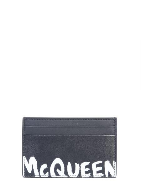 Alexander Mcqueen - Portacarte Con Logo
