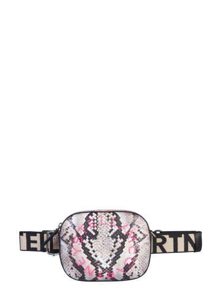 Stella Mccartney - Python Print Pouch With Logo
