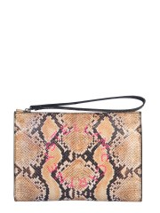 STELLA McCARTNEY - CLUTCH CON LOGO