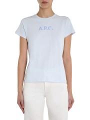 A.P.C. - T-SHIRT GIROCOLLO