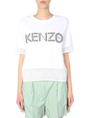 KENZO - T-SHIRT CROPPED