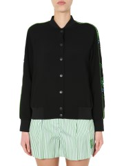 KENZO - BOMBER CON STAMPA