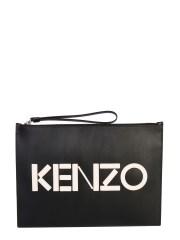 KENZO - POUCH LARGE CON LOGO