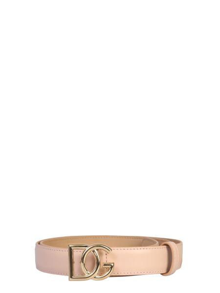 Dolce & Gabbana - Dg Logo Leather Belt