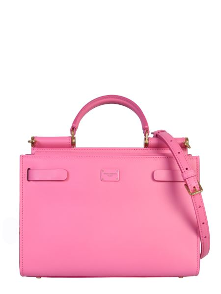 Dolce & Gabbana - Small Sicily 62 Leather Bag