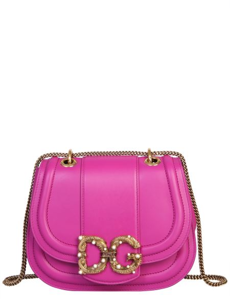 Dolce & Gabbana - Dg Amore Leather Crossbody Bag