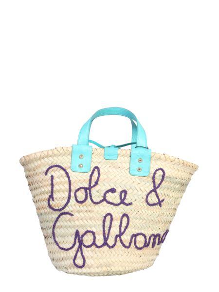 Dolce & Gabbana - Kendra Straw Handbag