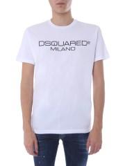 DSQUARED - T-SHIRT GIROCOLLO