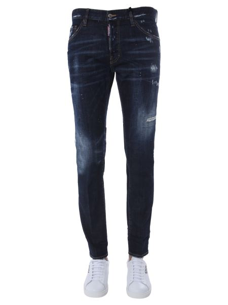 Dsquared - Cool Guy Cotton Denim Jeans With Logo