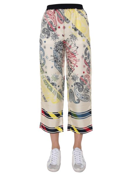 Golden Goose Deluxe Brand - Silk Jogger Pants With Print
