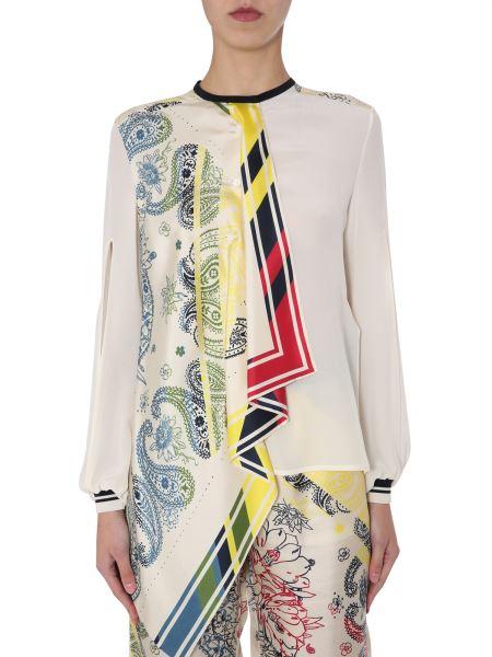 """Golden Goose Deluxe Brand - """"eleanor"""" Silk Shirt With Print"""