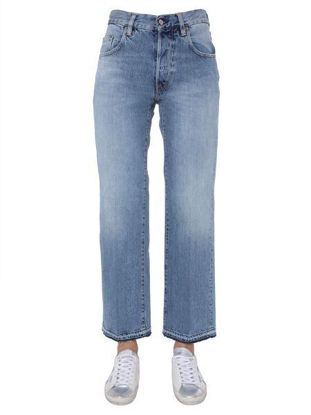 "Golden Goose Deluxe Brand - Jeans ""ava"" In Denim Di Cotone"