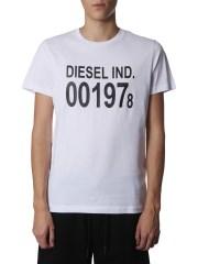 DIESEL - T-SHIRT GIROCOLLO