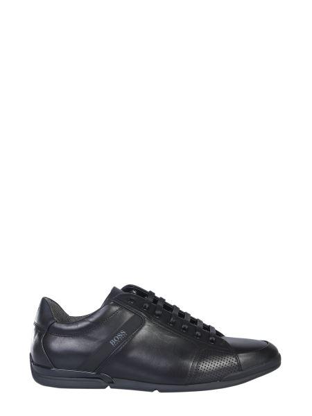 Boss - Saturn Lowp Leather Sneaker