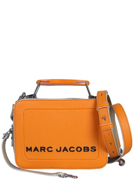 Marc Jacobs - Borsa The Colorblock Textured Box Mini In Pelle