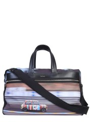 PAUL SMITH - BORSA DA VIAGGIO CON STAMPA MINI