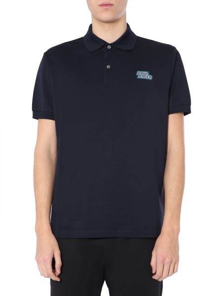 Paul Smith - Cotton Polo With Logo Patch