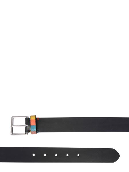 Paul Smith - Leather Belt With Buckle