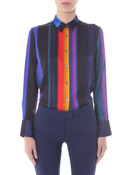 Ps By Paul Smith - Camicia Regular Fit Con Stampa Multicolor