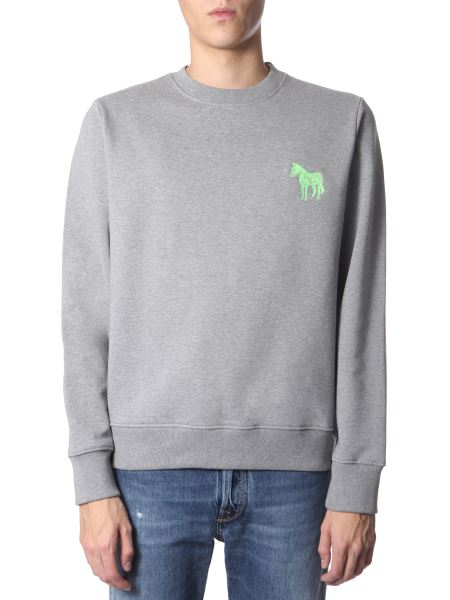 Ps By Paul Smith - Zebra Cotton Sweatshirt