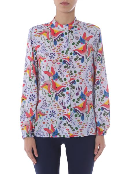 Ps By Paul Smith - Regular Fit Shirt With Floral Pattern
