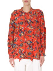 GIVENCHY - BLUSA CON STAMPA