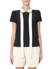 RED VALENTINO - BLUSA CON COLLETTO BABY