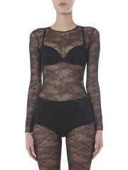 RED VALENTINO - BODY A MANICA LUNGA