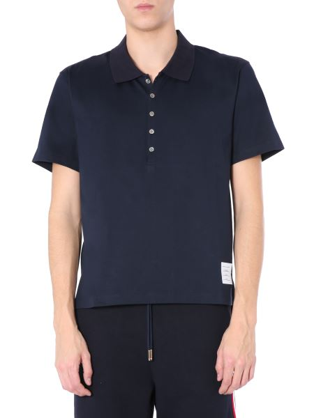 Thom Browne - Relaxed Fit Cotton Polo