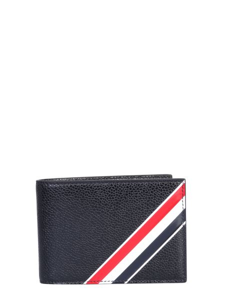 Thom Browne - Wallet With Leather Logo