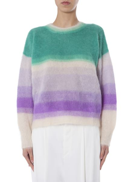 "Isabel Marant Étoile - ""drussell"" Mohair Neck Sweater"
