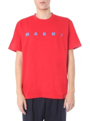 MARNI - T-SHIRT GIROCOLLO