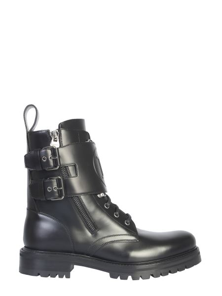 Balmain - Ranger Nick Leather Boot