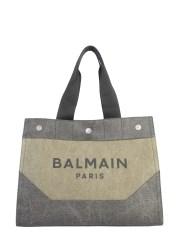 BALMAIN - BORSA SHOPPER CON LOGO