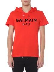 BALMAIN - T-SHIRT IN COTONE
