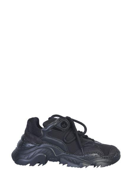 N°21 - Sneaker Billy In Pelle E Mesh