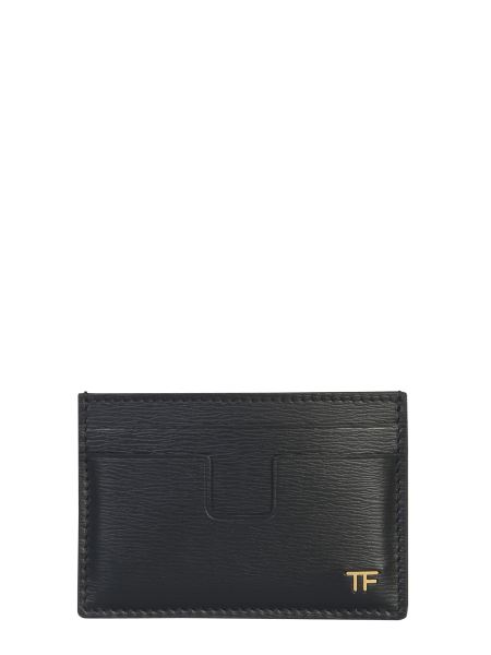 Tom Ford - Card Holder With Leather Logo