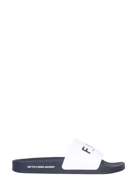 Forward - Slide Rubber Sandal With Logo