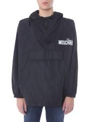 MOSCHINO - GIACCA CON CAPPUCCIO