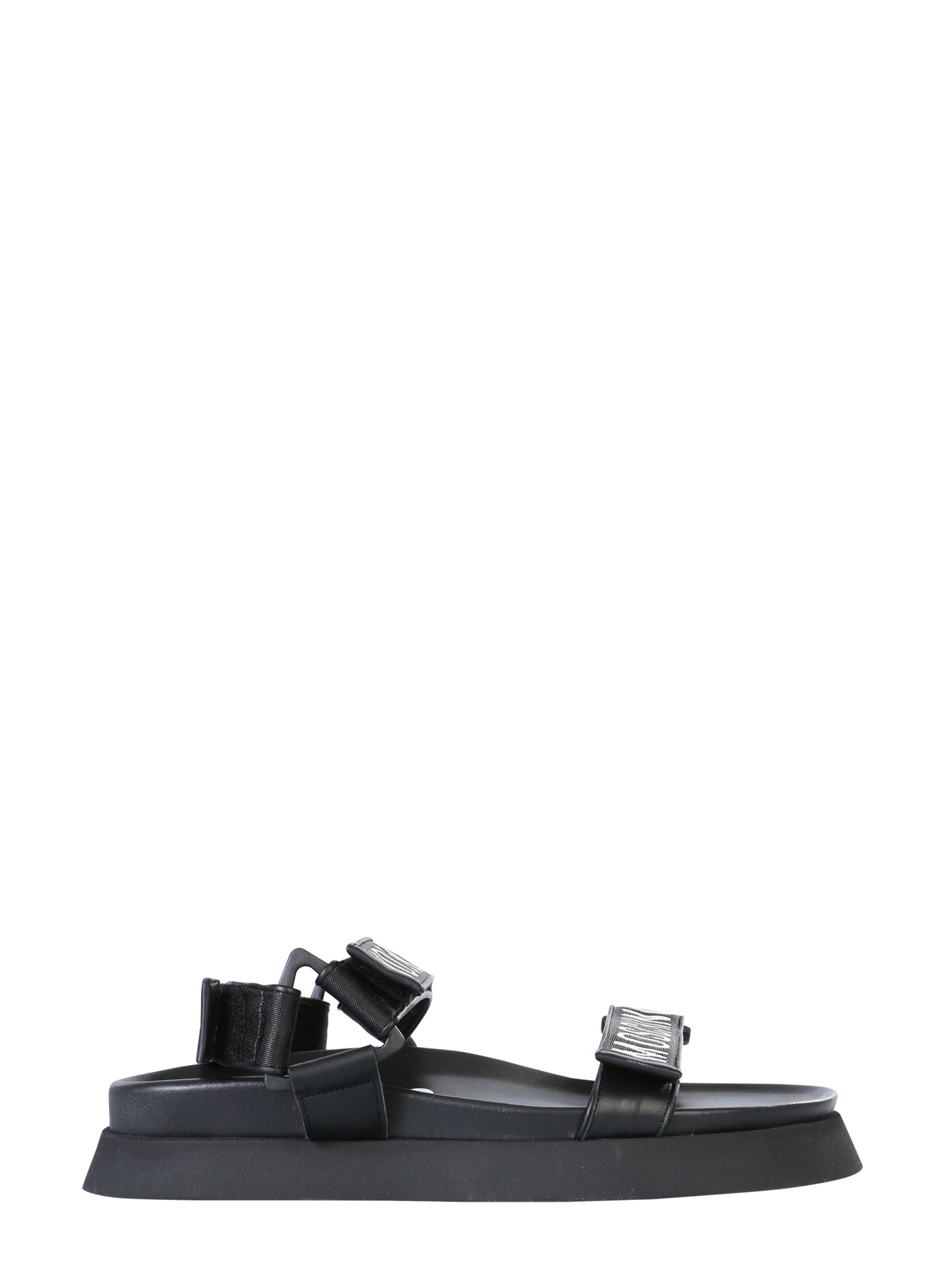 Moschino SANDALS WITH LOGO