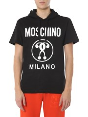 MOSCHINO - T-SHIRT GIROCOLLO